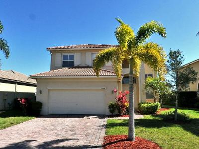 Fort Pierce Single Family Home For Sale: 5534 Place Lake Drive