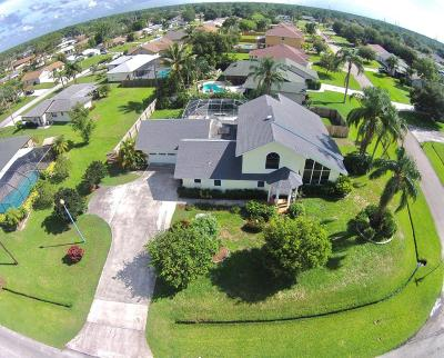Port Saint Lucie Single Family Home For Sale: 843 SE Thornhill Drive