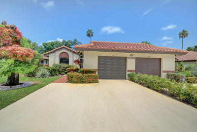Boynton Beach FL Single Family Home For Sale: $250,000
