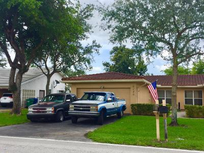 Coral Springs Single Family Home For Sale: 8140 NW 40th Street