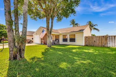 Lake Worth Single Family Home For Sale: 7911 Bishopwood Road