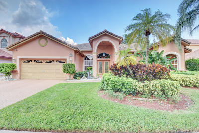Boca Raton Single Family Home For Sale: 22188 Braddock Place