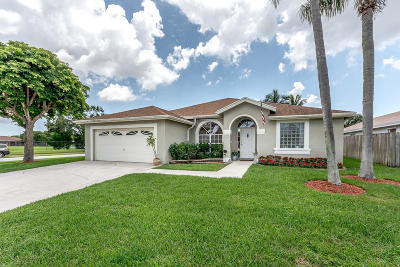 Boynton Beach Single Family Home For Sale: 9146 Patina Drive