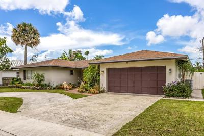 Boca Raton Single Family Home For Sale: 12 Burning Tree Lane