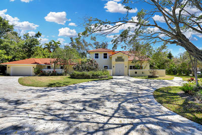 Boca Raton Single Family Home For Sale: 8044 Twin Lake Drive