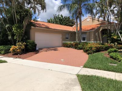 Boca Raton Single Family Home For Sale: 19951 Milan Terrace