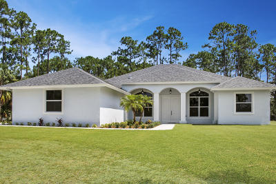 Loxahatchee Single Family Home For Sale: 15057 76th Road