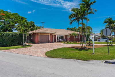 Boca Raton Single Family Home For Sale: 2099 Sharon Street