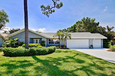 Palm Beach Gardens FL Single Family Home For Sale: $595,000