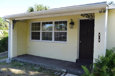 West Palm Beach Single Family Home For Sale: 919 30th Street