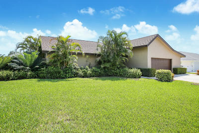 Boynton Beach Single Family Home For Sale: 4297 Juniper Terrace