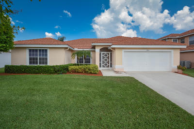 Boynton Beach Single Family Home For Sale: 8904 Spring Valley Drive