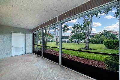 Delray Beach Condo For Sale: 6600 S Oriole Boulevard #H 1040