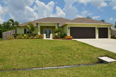 Port Saint Lucie Single Family Home For Sale: 229 SW South Quick Circle