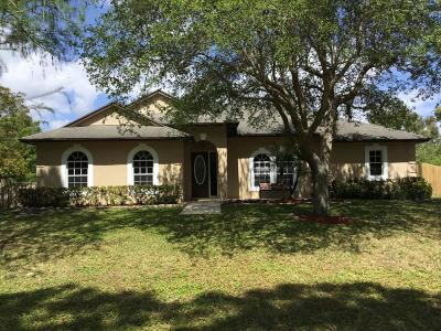 Palm Beach Gardens Single Family Home For Sale: 7617 160th Lane