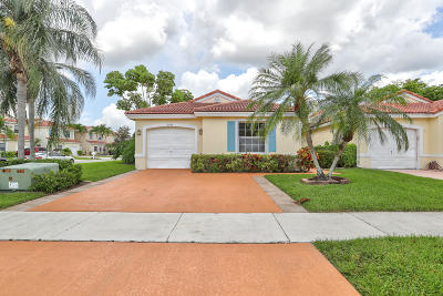 Lake Worth Single Family Home For Sale: 7145 Burgess Drive
