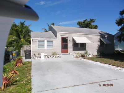 West Palm Beach Single Family Home For Sale: 811 Ridgewood Drive
