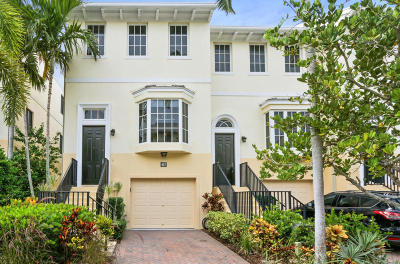 Juno Beach Townhouse For Sale: 467 Juno Dunes Way