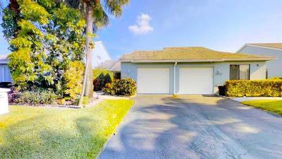 Lake Worth, Lakeworth Single Family Home For Sale: 3981 Island Club Circle W