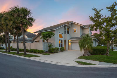 Jupiter Townhouse For Sale: 3040 Mainsail Circle