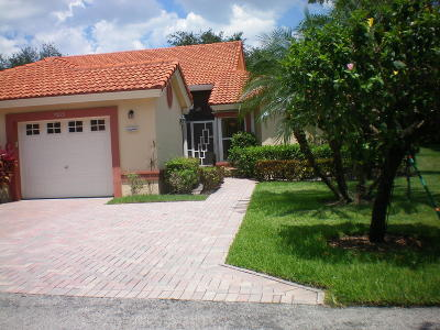 Boynton Beach Single Family Home For Sale: 7035 Summer Tree Drive