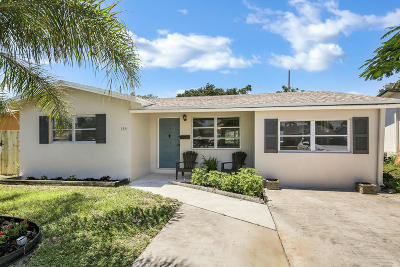 Boynton Beach Single Family Home For Sale: 134 SW 9th Avenue