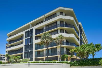 Palm Beach Condo For Sale: 3100 S Ocean Boulevard #406s