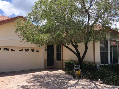 Palm Beach Gardens FL Single Family Home For Sale: $349,500