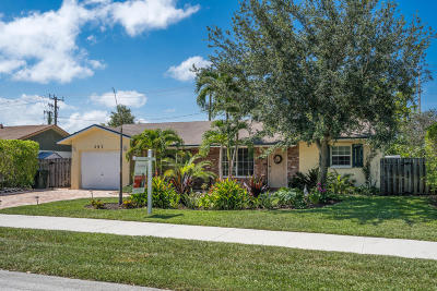 Boca Raton Single Family Home For Sale: 357 NW 23rd Street
