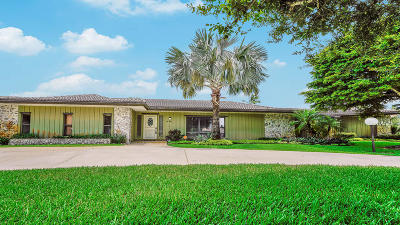 Lake Worth Single Family Home For Sale: 7880 Oakmont Drive
