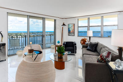 West Palm Beach Condo For Sale: 1801 S Flagler Drive #1802
