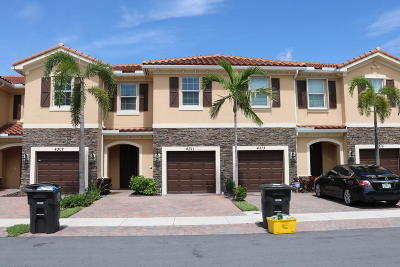 West Palm Beach Townhouse For Sale: 4311 Chalmers Lane