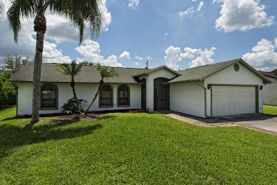 Port Saint Lucie Single Family Home For Sale: 3111 SE Card Terrace