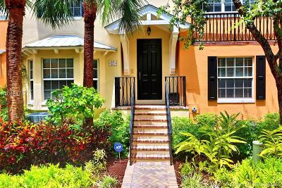 Delray Beach Townhouse For Sale: 325 W Mallory Circle #325