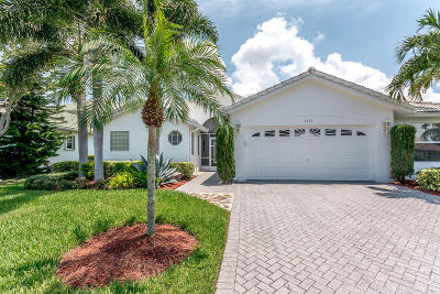 Greenacres Single Family Home For Sale: 6703 Egret Nest Lane