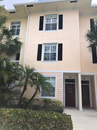 Jupiter Townhouse For Sale: 245 Murcia Drive #203