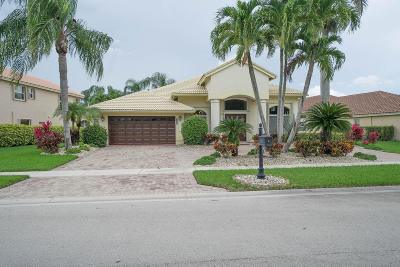 Boca Raton FL Single Family Home For Sale: $475,000