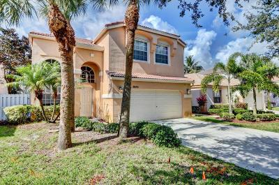 Lake Worth, Lakeworth Single Family Home For Sale: 7855 Oak Grove Circle