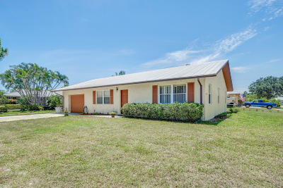 Jupiter Single Family Home For Sale: 11780 SE Williams Lane