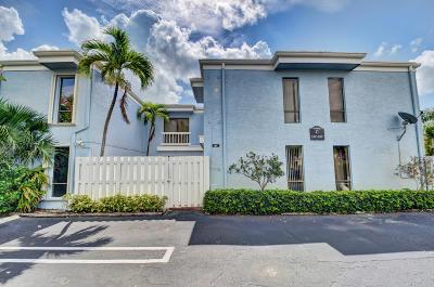 Delray Beach Townhouse For Sale: 1010 NE 8th Avenue #14c