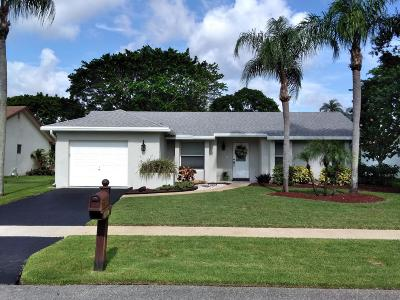 Boca Raton Single Family Home For Sale: 18077 Grove Avenue