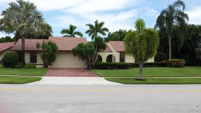 Boynton Beach Single Family Home Contingent: 2334 SW 23rd Cranbrook Drive