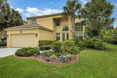 Royal Palm Beach Single Family Home For Sale: 2517 Glendale Drive