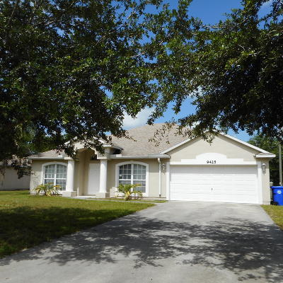 Vero Beach Single Family Home Contingent: 9425 100th Court