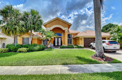 Boca Raton Single Family Home For Sale: 10927 Bal Harbor Drive