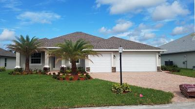 Port Saint Lucie Single Family Home For Sale: 328 SW Vista Lake Drive