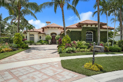 West Palm Beach Single Family Home For Sale: 7969 Cranes Pointe Way