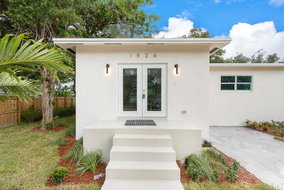 Fort Lauderdale Single Family Home For Sale: 1526 SW 20 Avenue