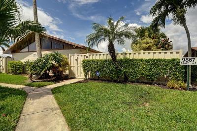 Boca Raton Rental For Rent: 9867 Boca Gardens Trail #B