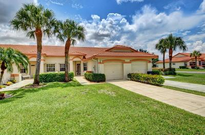 Delray Beach Single Family Home For Sale: 15236 W Tranquility Lake Drive